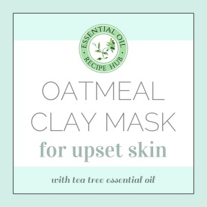 oatmeal clay mask