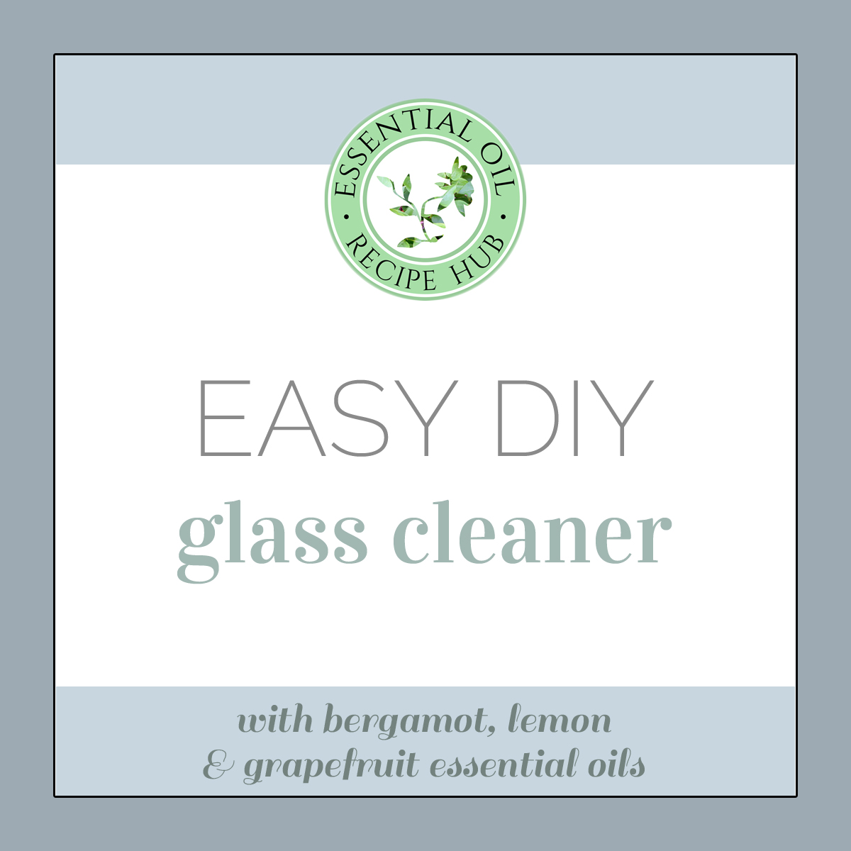 easy diy glass cleaner